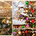A Pack Of 12 Pcs Christmas Balls Baubles Party Xmas Tree Hanging Ornament Decor