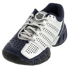 Juniors` Bigshot Light 2.5 Tennis Shoes Silver and Navy