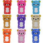 Cute 3D Bear Soft Silicone Back Washable Cover Case for Apple iPod touch 5 /6