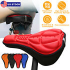 3D Soft Pad Outdoor Cycling Bicycle Silicone Bike Seat Cover Cushion Pad 4 Color