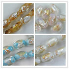 20 Handmade Lampwork Glass Drum Shaped Spacers 11x16mm 4color-1 P425