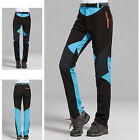 Women Soft Shell Fleece Combat Trousers Outdoor Windproof Ski Hiking Sport Pants