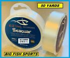 SEAGUAR BLUE LABEL FLUOROCARBON Leader 50YD YARDS PICK YOUR SIZE FREE USA SHIP