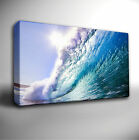 Big Blue WAVE Surfing - GICLEE CANVAS ART *Many sizes available!