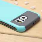 For Samsung Galaxy S6 Hybrid Rugged Soft Rubber Protective H