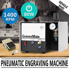 PNEUMATIC IMPACT ENGRAVING MACHINE 1400RPM/MIN SINGLE ENDED COMPRESSED AIR