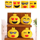 Ladies' Girls Cartoon Emoji Expressions Show Silicone Purse Headset Coin Bag JYL