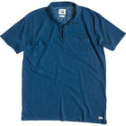 Quiksilver Haworth Mens T-shirt Polo Shirt - Dark Denim All Sizes