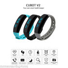 Cubot V2 Heart Rate Bracelet Bluetooth Pedometer Reminder Remote for Android IOS