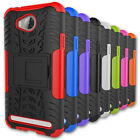 Hybrid Armor Kickstand Protective Phone Cover Case For Huawei Y3 II (2nd Gen.)