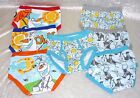 Disney Frozen Toddler Boy Olaf Underwear 7-Pack Multi cotton size 4T NEW