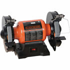 Black & Decker 1.8 Amp 6 in. Bench Grinder BG1500BD new