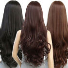 Women Fashion Lady Anime Long Curly Wavy Hair Party Cosplay Full Wig Hot