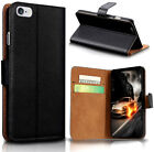 Luxury Ultra Slim Shockproof Flip Wallet Case Cover for Apple iPhone X 8 7 6S 5S