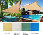 Sun Shade Sail Outdoor UV Top Cover Patio Lawn Multiple Shape Block Canop