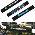 2 x Bike Bicycle Chain Guard Protector Frame Protector Cover Pad Neoprene Black