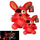 """New Plush Soft Toy Kids Doll 10"""" Hot FNAF Five Nights at Freddy's FOXY PIRATE"""