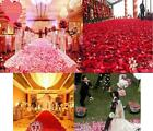 100p Lot Rose Petals Simulation Wedding Party Table Supplies Confetti Decoration