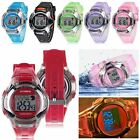 Waterproof Multifunction Electronic Sport Digital Wrist Watch For Kids Girls Boy