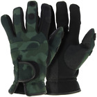 NGT CAMO Neoprene Fishing Gloves, Folding Fingers, Hunting, Shooting M L & XL