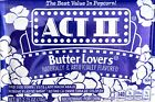 Act II Microwave Popcorn Butter Lovers 100% Whole Grain, 5 20 or 40 Bags