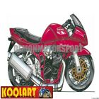 Koolart Cartoon Suzuki Bandit GSF S 1200 Red - Mens Gifts (1371)