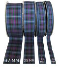 Pride of Scotland Ancient Tartan Ribbon; various widths, cut lengths & 25m reels