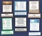 6 Loss Of Pet Sympathy Greeting Verse Toppers W/WO Matching Sentiment Banners