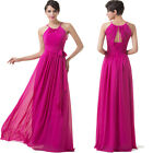 Sale Sexy Chiffon Evening Ball Gown Party Bridesmaid Cocktail Long Prom Dresses