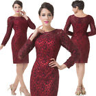Lace Mother Of The Bride/Groom Gown Ladies Evening Party Dresses Wedding FORMAL