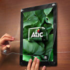 ATIC Frame Note Picture Art Photo Wall Hanging Type Display A4 Black / White