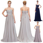 Women Long Bridesmaid Formal Prom Dresses Evening Cocktail Ball Gown Dress ***
