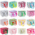 NEW Children's Kids Lunch Bags Insulated Cool Bag Picnic Bag School Lunchbox