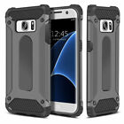 For Samsung Galaxy S7 & S7 Edge - Dual Layer Hybrid Shockproof Hard Armor Case