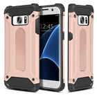Samsung Galaxy S7 & S7 Edge - Dual Layer Hybrid Shockproof Hard Armor Case