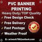 PVC BANNERS - FREE DESIGN - PRINTED OUTDOOR ADVERTISING SIGN