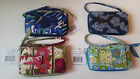 NWT Vera Bradley All in One Wristlet Wallet RETIRED PATTERNS Zip Around NEW Tag