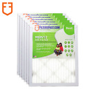 "1"" Filters Fast Allergen Air and Furnace Filters MERV 13 6-Pack Made in the USA"
