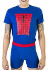 Spiderman Underoos Men's Underwear Set T Shirt Top Boxer Briefs Pajamas NIB