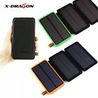 300000mAh Solar Panel Charger External Battery Power Bank For Phone Tablets USA