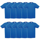 Fruit of the Loom Valueweight V-Neck Herren T-Shirt 10er Pack Royal 61066