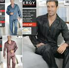 Popular Satin Silk Men's Pajama Set Sleepwear Nightgown M L XL, 3 types