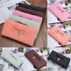 Kyпить Women Bowknot Leather Clutch Long Purse Wallet Card Holder Handbag Bag Clutch US на еВаy.соm