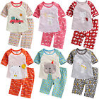 "Vaenait Baby Kids Girls Short Sleeve Sleepwear Pajama ""Girls 3/4 Sleeves"" 12M-7T"