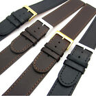 Super long XXL Genuine Leather Watch Band Choice of sizes Black or Brown C023