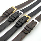 Super long Ladies XXL Leather Watch Band 10mm 12mm 14mm Black or Brown C023