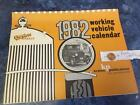 Old Cars 1982 complete NEW calendar Krause Publi FREE SHIP + FREE lucky PENNY !!