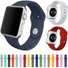 New Replacement Silicone Fitness Band Bracelet Strap Apple Sport  Watch iWatch