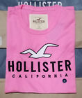 NWT HOLLISTER Printed And Applique Logo Graphic Men T Shirt Tee By Abercrombi?e