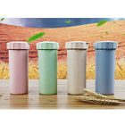 450ml ECO Nature Wheat Straw Portable Water Bottle Drink Container Cup Mug ZXX